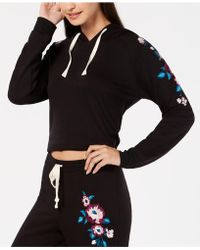 INC International Concepts - I.n.c. Embroidered Pyjama Hoodie, Created For Macy's - Lyst