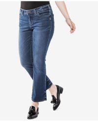 Silver Jeans Co. - Trendy Plus Size Aiko Slim Bootcut Jeans, Medium Blue Wash - Lyst