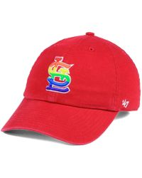 52ae4e67404 Lyst - 47 Brand Kids  St. Louis Blues Clean Up Cap in Blue for Men