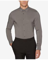 Perry Ellis - Men's Non-iron Stretch Woven Shirt - Lyst