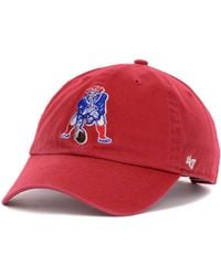 9610f68ed8d Lyst - 47 Brand New England Patriots Franchise Hat in Blue for Men