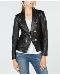 INC International Concepts - I.n.c. Petite Faux-leather Blazer, Created For Macy's - Lyst