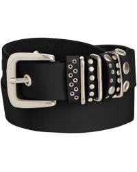 Calvin Klein - Studded Loops Pant Belt - Lyst