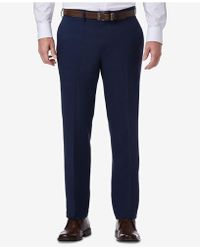Kenneth Cole Reaction - Technicole Slim-fit Performance Tech Pocket Dress Pants - Lyst