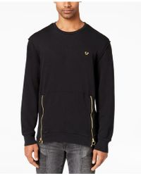 True Religion - Side-zipper Sweater - Lyst