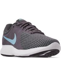 df3ad6f287d80 Nike - Revolution 4 Wide Width Running Sneakers From Finish Line - Lyst