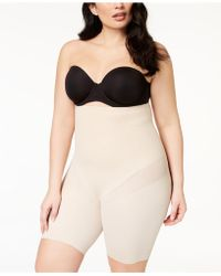 Miraclesuit - Cool Choice Plus Size Extra-firm-control High-waist Thigh Slimmer 2409 - Lyst