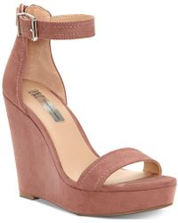 INC International Concepts - I.n.c. Vidita Platform Wedge Sandals, Created For Macy's - Lyst