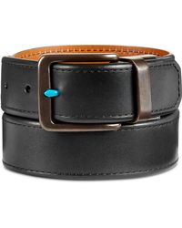Original Penguin - Men's Reversible Leather Belt - Lyst