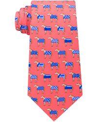 Tommy Hilfiger - Derby Horse Silk Tie - Lyst