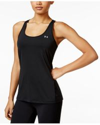 Under Armour - Heatgear Racerback Tank Top - Lyst
