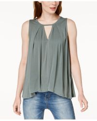 Lucky Brand - Keyhole Tank Top - Lyst