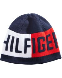 Tommy Hilfiger - Logo Beanie, Created For Macy's - Lyst