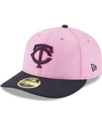 afdfe64ed6f KTZ - Minnesota Twins Mothers Day Low Profile 59fifty Fitted Cap - Lyst