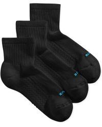 Hue - Air Cushion Mini Crew 3 Pack Socks - Lyst
