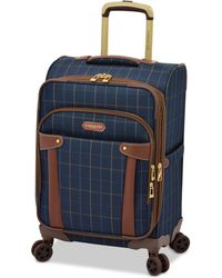 "London Fog - Brentwood 20"" Softside Carry-on Spinner Suitcase, Created For Macy's - Lyst"