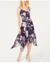 INC International Concepts - I.n.c. Floral-print Handkerchief-hem Dress, Created For Macy's - Lyst