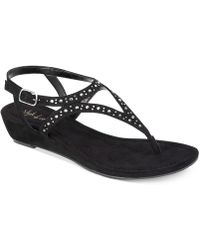 Style & Co. - Hareet Wedge Sandals - Lyst