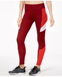 PUMA - Retro Colorblocked Ribbed Leggings - Lyst