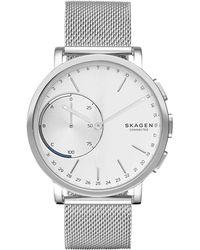 Skagen - Unisex Hagen Hybrid Stainless Steel Smart Watch 42mm Skt1100 - Lyst