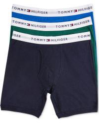Tommy Hilfiger - Underwear, 4 Pack Athletic Boxer Brief - Lyst