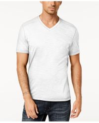 INC International Concepts - Heathered V-neck T-shirt, Created For Macy's - Lyst