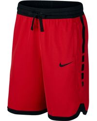 988bed7cc4ce Lyst - Nike Elite Stripe Basketball Shorts in Yellow for Men