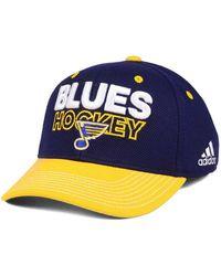 6efbfbe0a6699 Lyst - Adidas Locker Room Structured Flex Cap in Blue for Men