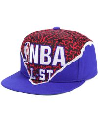 Lyst - Mitchell   Ness All Star Deez Jersey Dad Hats in Red for Men 235b0917c772