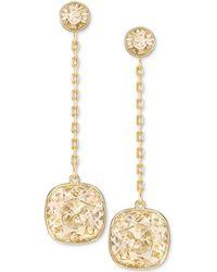 Swarovski - Crystal Chain Earring Jackets - Lyst