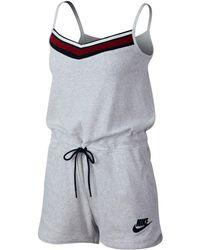 Nike - Sportswear Sleeveless Romper - Lyst