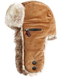 65fe895afa12a Woolrich - Corduroy Trooper Hat