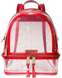 e3f6e68c13dc32 Michael Kors Michael Gingham Large Backpack, A Macy's Exclusive ...