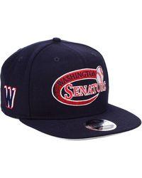 newest dfbf5 21138 KTZ - Washington Senators Swoop 9fifty Snapback Cap - Lyst