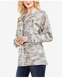Vince Camuto - Avenue Camo-print Utility Jacket - Lyst