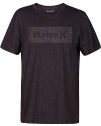 Hurley - One And Only Box Logo T-shirt - Lyst