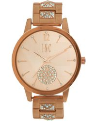 INC International Concepts - Women's Crystal Bracelet Watch 40mm, A Macy's Exclusive Style - Lyst