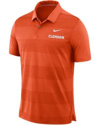 Nike - Clemson Tigers Early Season Coaches Polo - Lyst