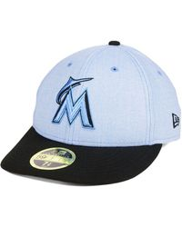 Lyst - 47 Brand Miami Marlins Sure Shot Snapback Cap in Red for Men f34ed9a5ca1b