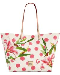 Dooney & Bourke - Addison Flower Medium Tote - Lyst