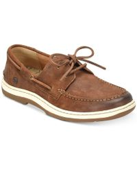 Born - Ocean 2-eye Distressed Boat Shoes - Lyst