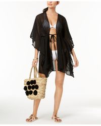 INC International Concepts - I.n.c. Sheer Jacquard Tassel Cover-up, Created For Macy's - Lyst