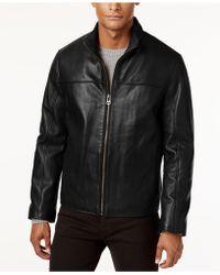 Cole Haan - Men's Leather Coat - Lyst