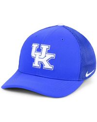 premium selection 6f239 bf84b ... where to buy nike kentucky wildcats col aro swooshflex cap lyst 8401d  24b89