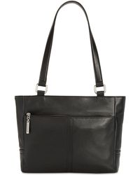 Giani Bernini - Nappa Classic Leather Tote, Created For Macy's - Lyst