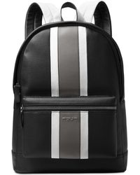 Michael Kors - Colorblocked Leather Backpack - Lyst