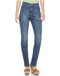 Style & Co. - Petite Tummy-control Slim-leg Jeans, Only At Macy's - Lyst