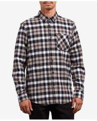 Volcom - Caden Plaid Shirt - Lyst