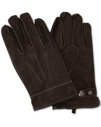 Original Penguin - Leather Dart Gloves - Lyst
