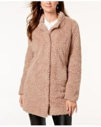 Kenneth Cole - Chubby Faux-fur Coat - Lyst